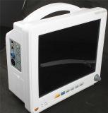 Monitor paciente do multiparâmetro médico aprovado de um Ce&ISO de 12 polegadas