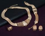 4 PCS 고정되는 형식 아프리카 다이아몬드 결혼식 18k 황금 보석