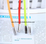 Кабель USB магнитного кабеля USB передачи данных кабеля USB микро- изготовленный на заказ для сотового телефона, iPhone и Samsung. кабельный соединитель USB 2 in-1