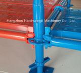 使用される粉によって塗られるRinglockの足場構築