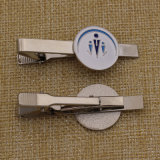 Soft su ordinazione Enamel Metal Tie Clip per Men