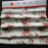 花模様の印刷された絹CDC