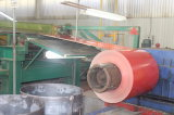 Bobina de acero prepintada edificio PPGL/PPGI del Galvalume de la estructura de acero