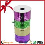 Qualitäts-Weihnachts-Polyester-Geschenk-lockiges Farbband
