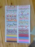 Cinta de tela decoración de encaje impreso