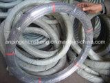 2.4*3.0mm Galvanized Oval Wire (鋼線およびロープの作成の製造業者)