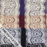 Шикарная эластичная ткань шнурка утески для одежд повелительниц