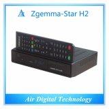 Первоначально OS E2 Linux спутникового приемника звезды H2 Zgemma удваивает тюнеры сердечника DVB-S2+T2/C твиновские