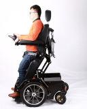 كلّ أرض [إلكتريك بوور] يقف كرسيّ ذو عجلات لأنّ يعجز