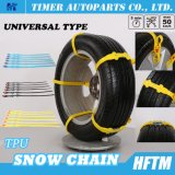 Льдед зимы цепей автошины приемистости SUV MPV многоразовый приковывает цепи снежка