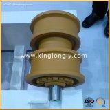 Rouleau supérieur de transporteur de rouleau pour des pièces de train d'atterrissage de bouteur d'excavatrice