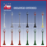 Festival Holiday Street Lamp LED Lights con Lace Decorations