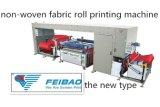 Fb-12010W Model Roll aan Roll Screen Printing Machine voor stoffenpvc Logo