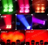 Adj MiniGezoem 4X15W die Hoofd LEIDEN Licht bewegen