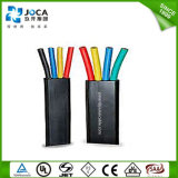 China Competitive Price 1100V Rubber Sheath Flat Submersible Pump Cable