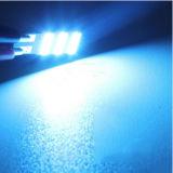 Lampade di rimozione dell'automobile di CC 12V 2W 240lm 5500k T10-4014-15SMD, lampada di lettura del LED