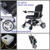 """황금 모터 8 """" 10 """" 12 ' E 왕위 접히는 휠체어, 기동성 스쿠터, 기동성 원조, 힘 휠체어, Foldable 휠체어, 접히는 힘 휠체어"""