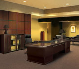 Mesa de escritório executivo de madeira da melamina da cor da venda quente (SZ-ODT609)