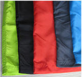 Durable PVC Waterproof Rain jacket for school Stundent