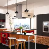 Hedendaagse Brown PVC Modulaire Keukens (OP15-PVC02)