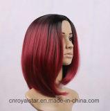 Большинств парик Bobo популярных женских волос прямой синтетический