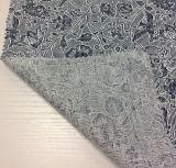リネン花の印刷を用いる綿によって混ぜられる衣服ファブリック
