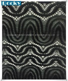 Tela de teñido del cordón del acoplamiento del Azo/tela del cordón de la manera para señora Dress