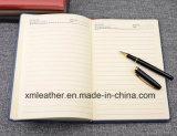 Diseño de encargo del cuero simple libreta cubierta diario