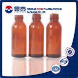 Qualität bernsteinfarbige Pharmacetical bernsteinfarbige Brown Medizin-Glasflasche