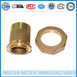 Accesorios de cobre amarillo del contador del agua de Dn15-25mm