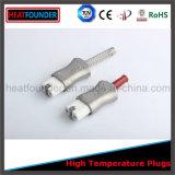 Enchufe de cerámica de alta temperatura eléctrico industrial
