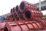 Вертикальные прессуя типы конкретных труб делая машину (HF1000)