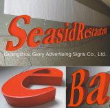 印を広告する屋外のアクリルLEDの文字