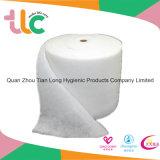 Papel absorbente no tejido mullido de la savia para las servilletas sanitarias