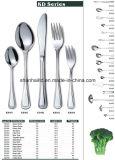 Insieme di pranzo dell'acciaio inossidabile Kd