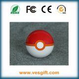 Pokemon vai Pokeball banco de uma potência de 12000 mAh com caixa de varejo