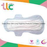 Usine molle superbe remplaçable de serviette hygiénique de coton