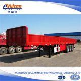 ISOの証明書が付いている江蘇の生産者3の車軸ダンプカートラックのトレーラー