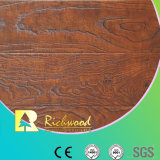 12.3 Suelo laminado resistente U-Grooved grabado AC4 de agua de HDF
