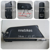 Bloco 36V 10ah da bateria de lítio do novo caso com USB
