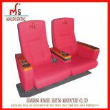 Plastiktheater-Lagerungs-Kino-Stuhl mit Becherhalter