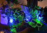 Jardin extérieur de lumière laser, projecteurs de lumière laser