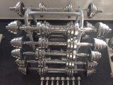 Dumbbell ajustável usado interno do cromo do anúncio publicitário do equipamento da ginástica do equipamento da aptidão