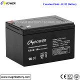 Bateria acidificada ao chumbo livre 12V7ah da manutenção VRLA/SLA para o UPS
