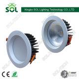Alta qualità una PANNOCCHIA LED messo 15-60W Downlight da 4/6/8 di pollice con Ce RoHS