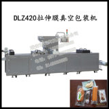 Dlz-460フルオートマチックの連続的な伸張によって冷却される食糧真空パック機械