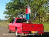 Turbine reconnue par ce de générateur de vent de 600W Maglev installée sur le véhicule