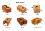 Qtj2-40手の出版物の小さい粘土の煉瓦作成機械