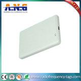 80g leitor portátil branco do smart card da voz passiva RFID