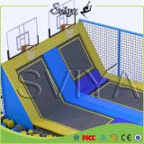 Indoor Square Slam Dunk Bounce Gymnastic Big Spring Trampoline